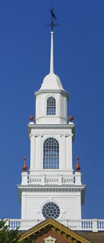 Delaware capitol cupola tower