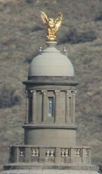 Cupola and eagle