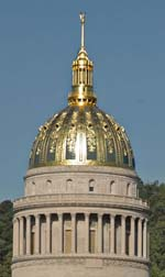 West Virginia capitol dome